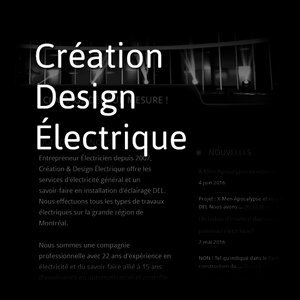 Creation Design Electrique