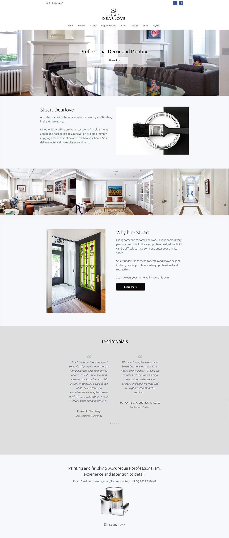 Stuart Dearlove site web